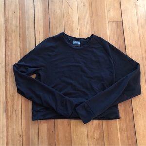 Gymshark cropped sweatshirt